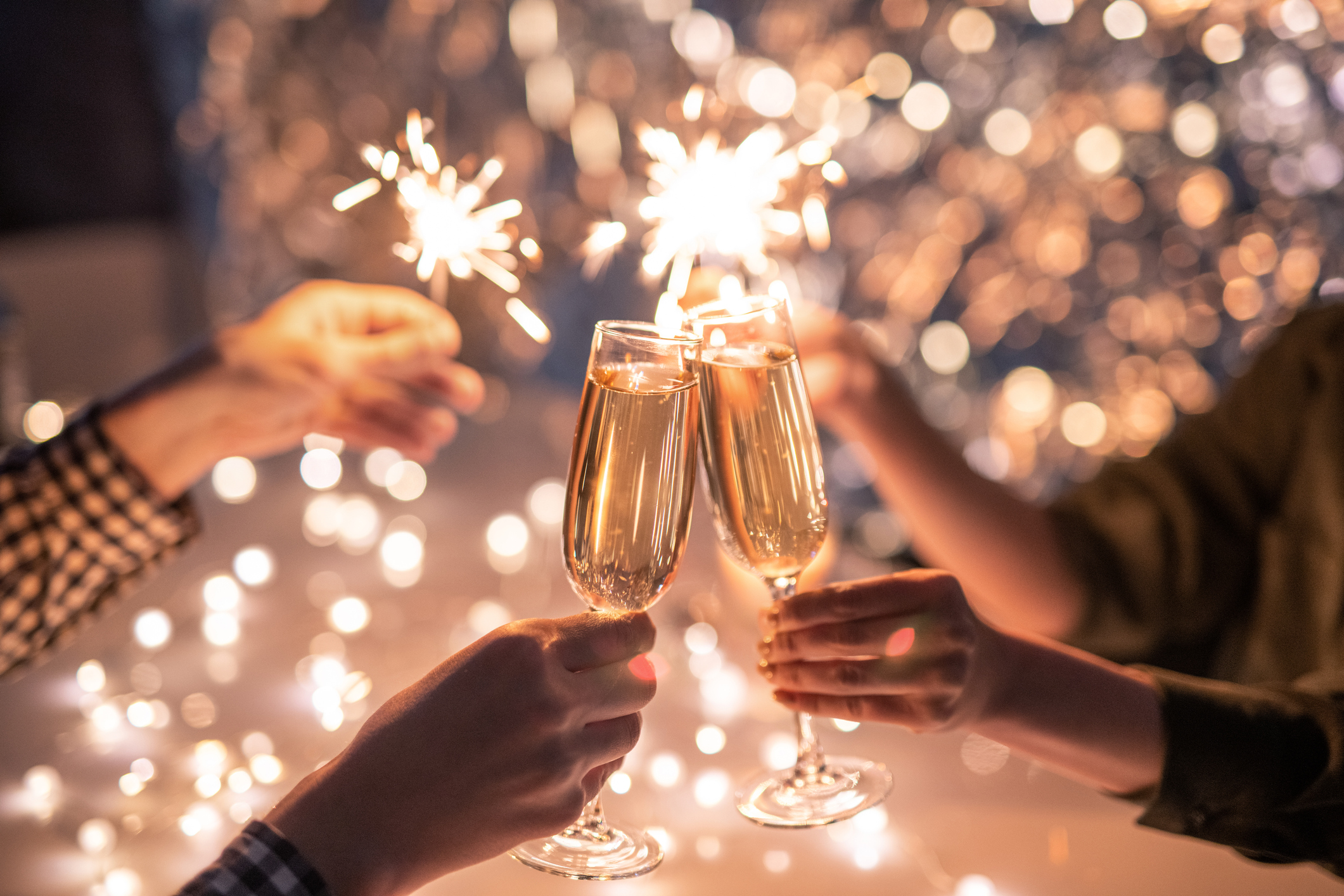 Celebrate New Years 2021 with Our Favorite Local Businesses at Twin Creeks Village